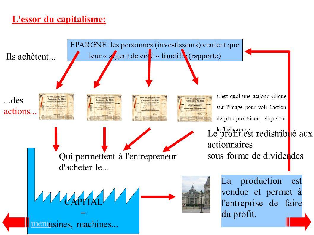 L essor du capitalisme: