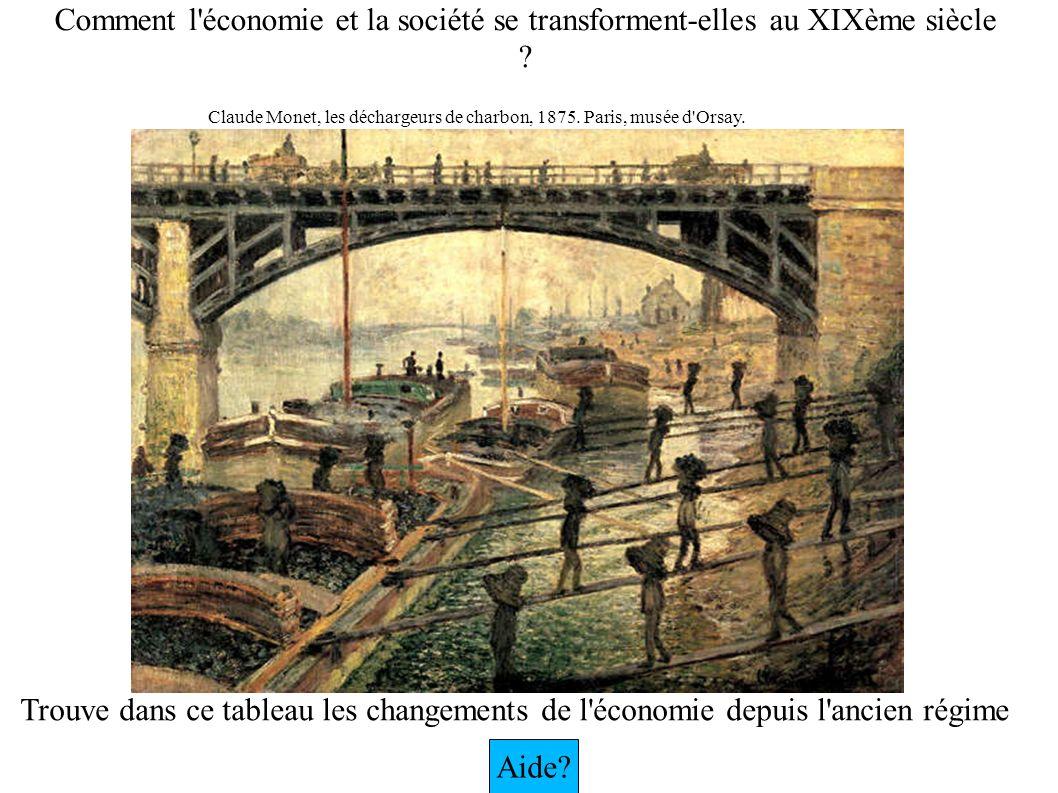 Comment l économie et la société se transforment-elles au XIXème siècle