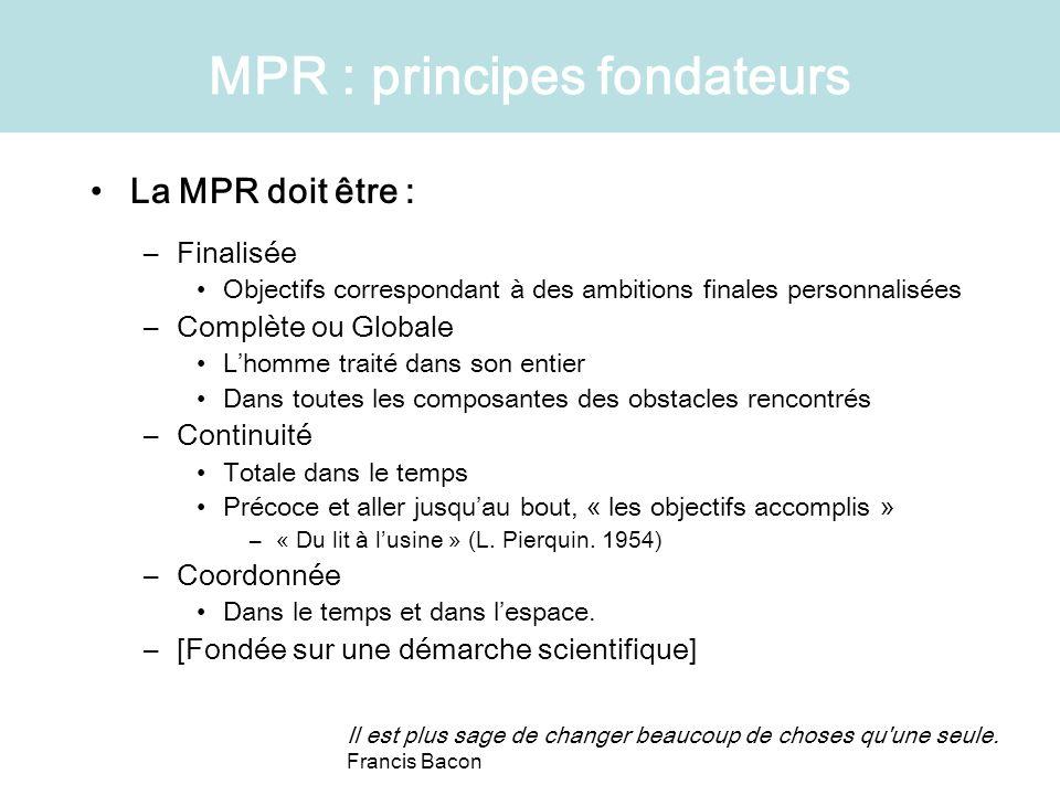 MPR : principes fondateurs