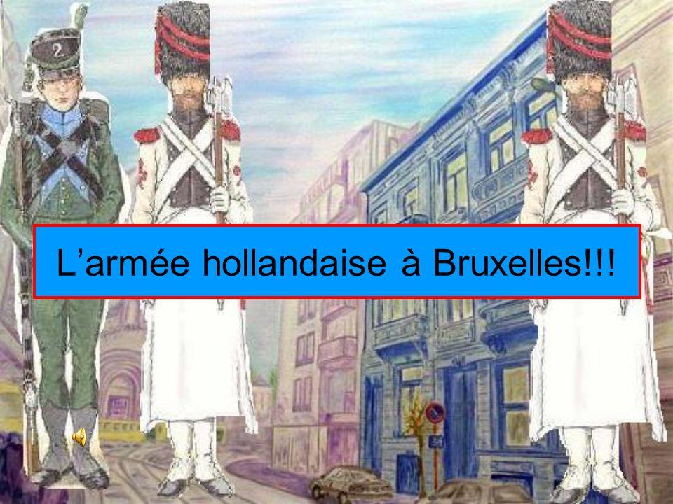 L'armée hollandaise à Bruxelles!!!