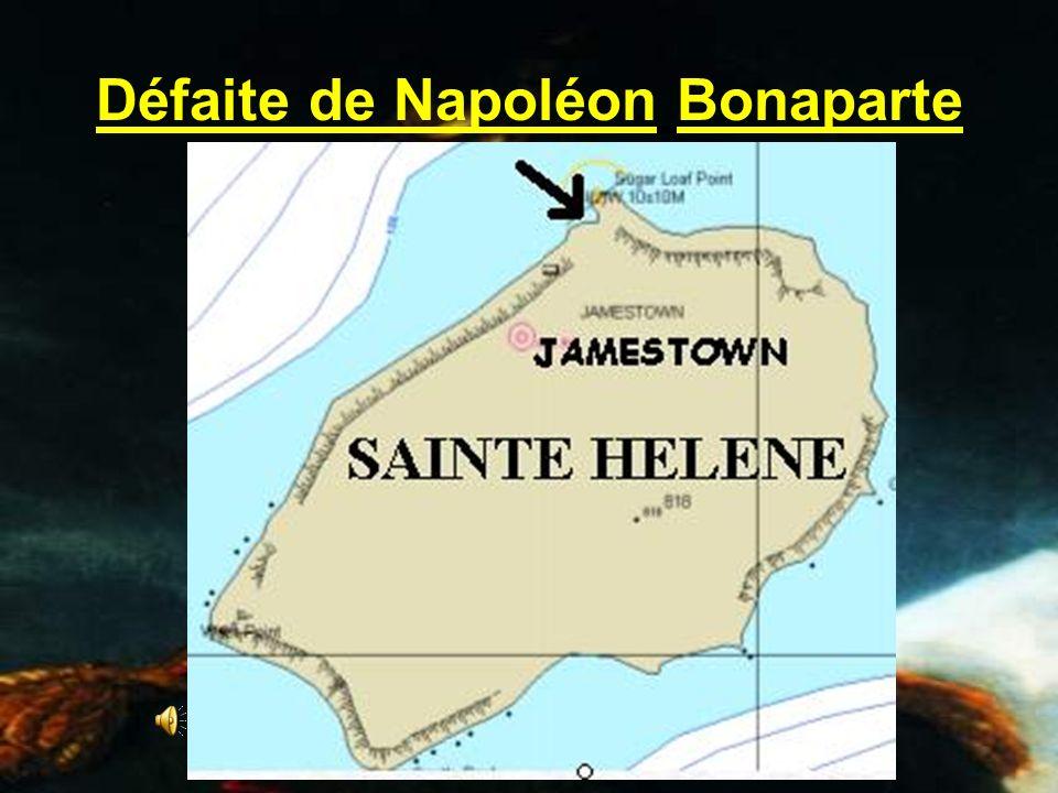 Défaite de Napoléon Bonaparte