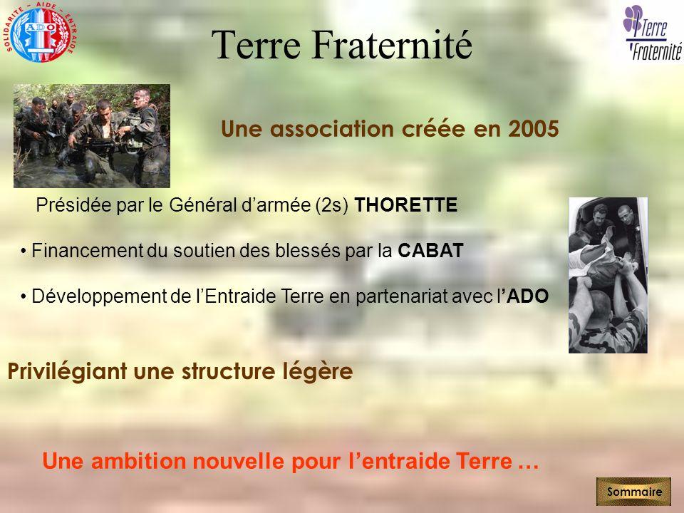 Terre Fraternité Une association créée en 2005