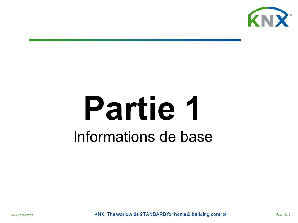 Partie 1 Informations de base