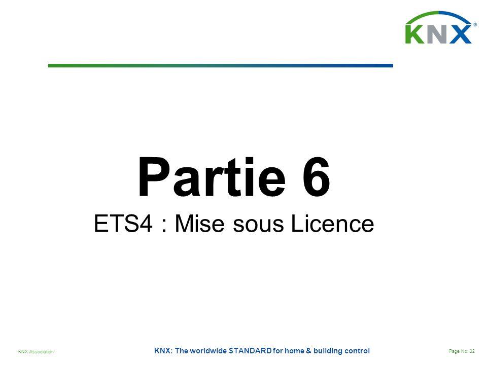 Partie 6 ETS4 : Mise sous Licence