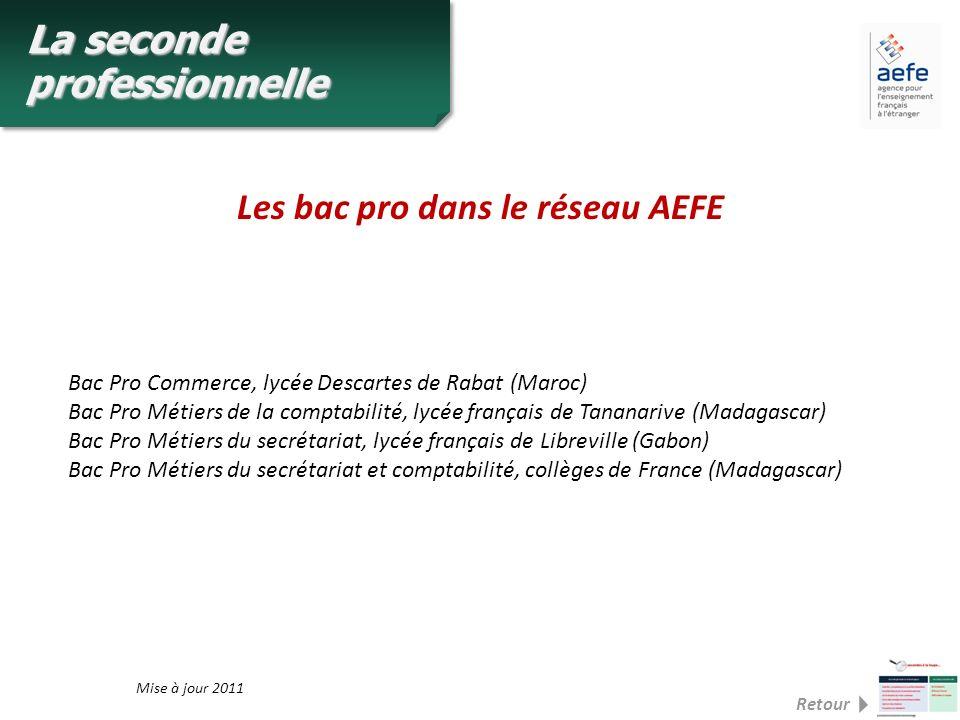 Les bac pro dans le réseau AEFE