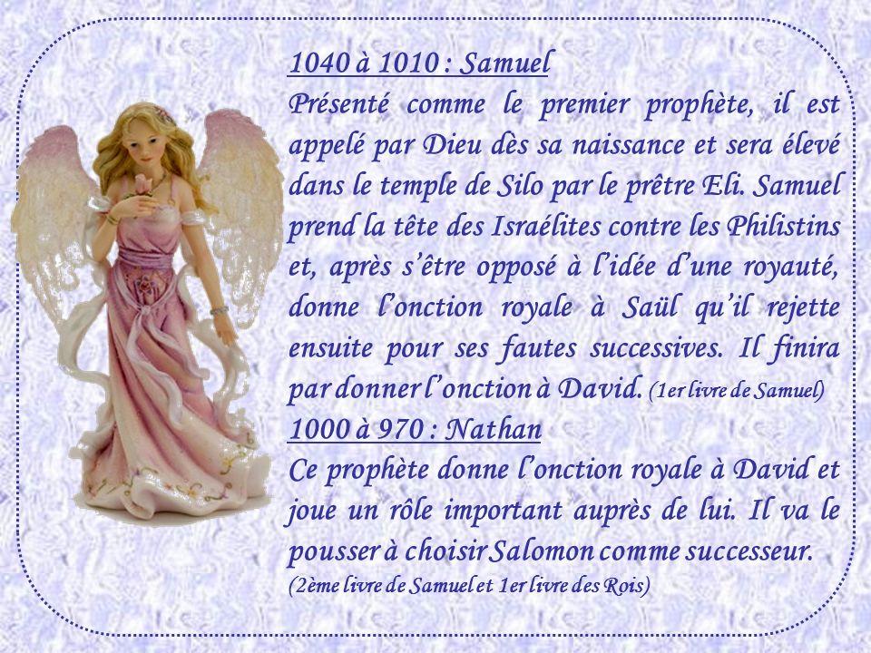 1040 à 1010 : Samuel
