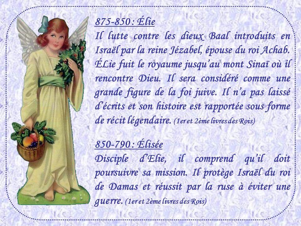 875-850 : Élie