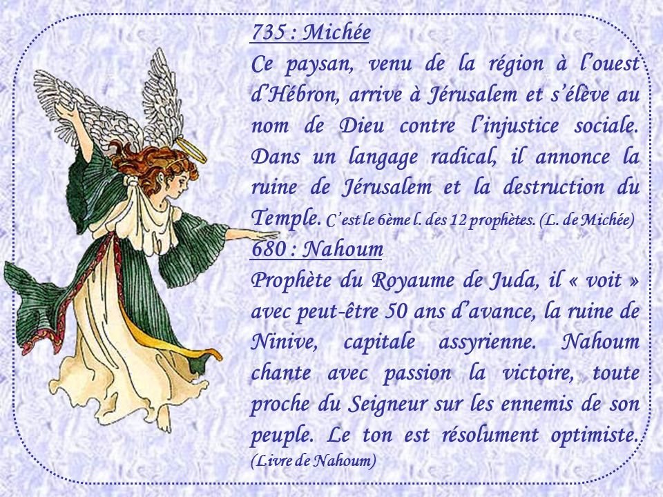 735 : Michée