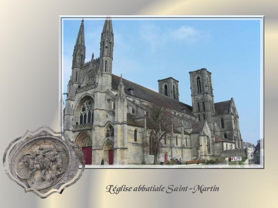 L'église abbatiale Saint-Martin