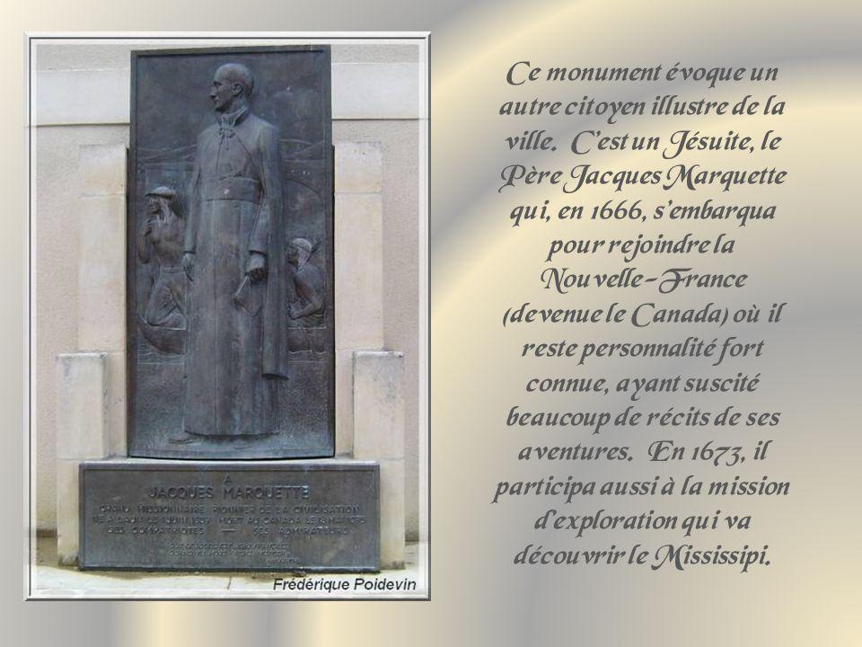 Ce monument évoque un autre citoyen illustre de la ville