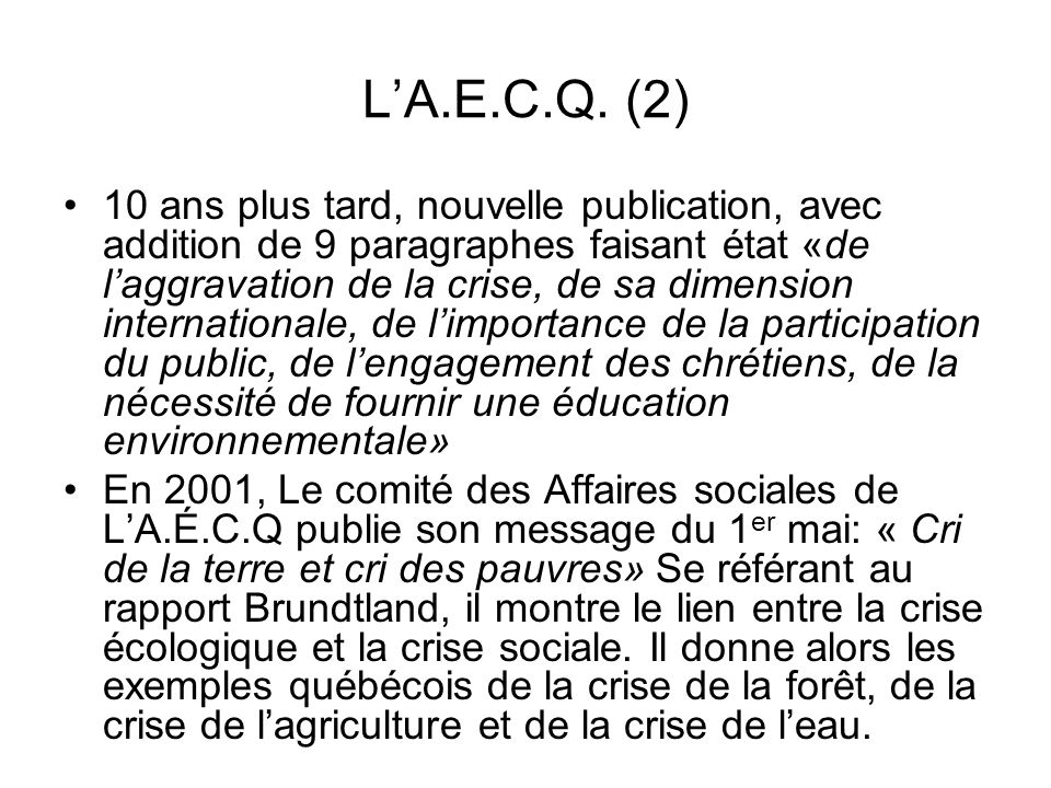 L'A.E.C.Q. (2)