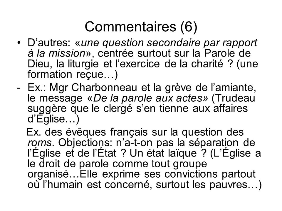 Commentaires (6)