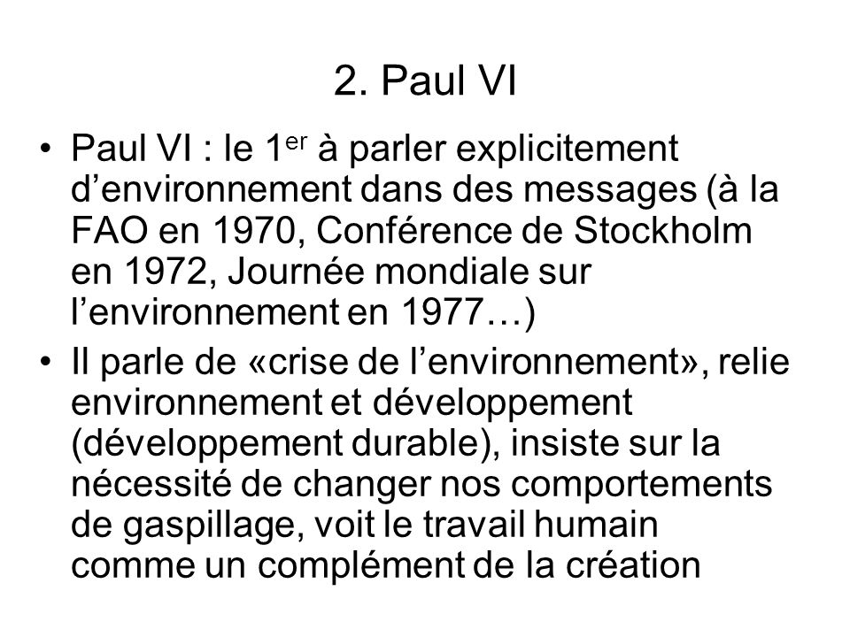 2. Paul VI