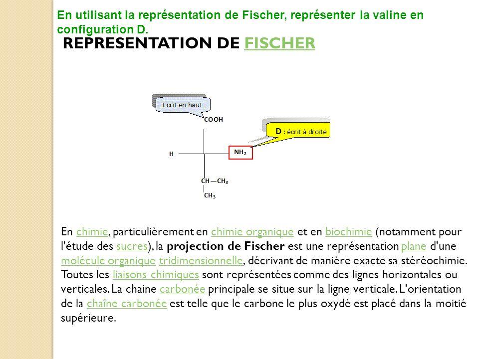 REPRESENTATION DE FISCHER