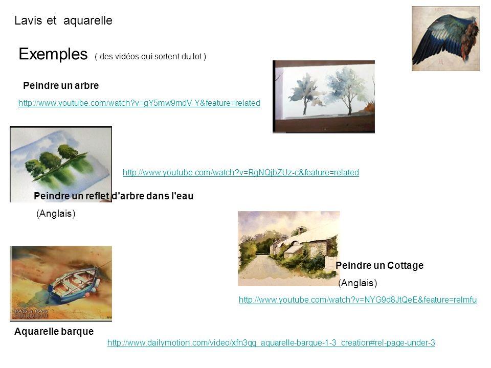 Exemples ( des vidéos qui sortent du lot ) Peindre un arbre