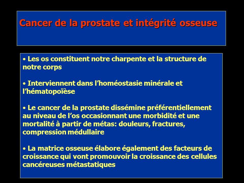 Cancer de la prostate et intégrité osseuse