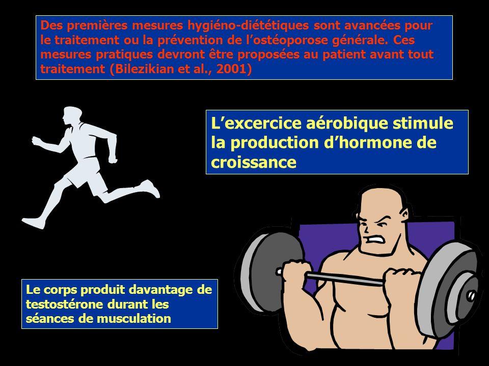 L'excercice aérobique stimule la production d'hormone de croissance