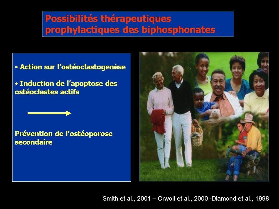 Possibilités thérapeutiques prophylactiques des biphosphonates