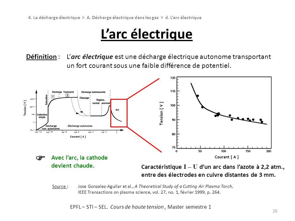 Chapitre 4 la d charge lectrique ppt t l charger for Haute tension definition