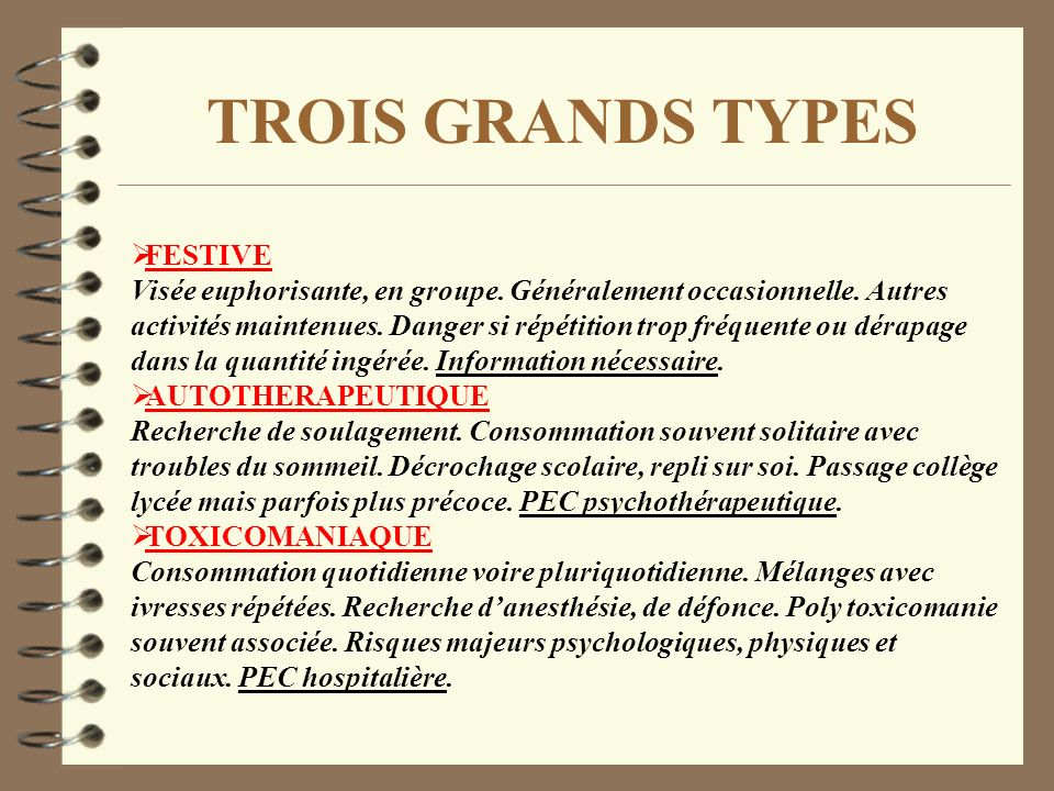 TROIS GRANDS TYPES