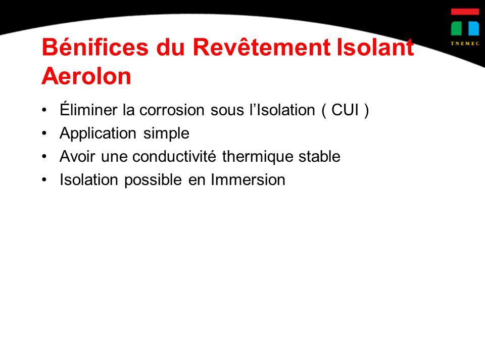 Bénifices du Revêtement Isolant Aerolon