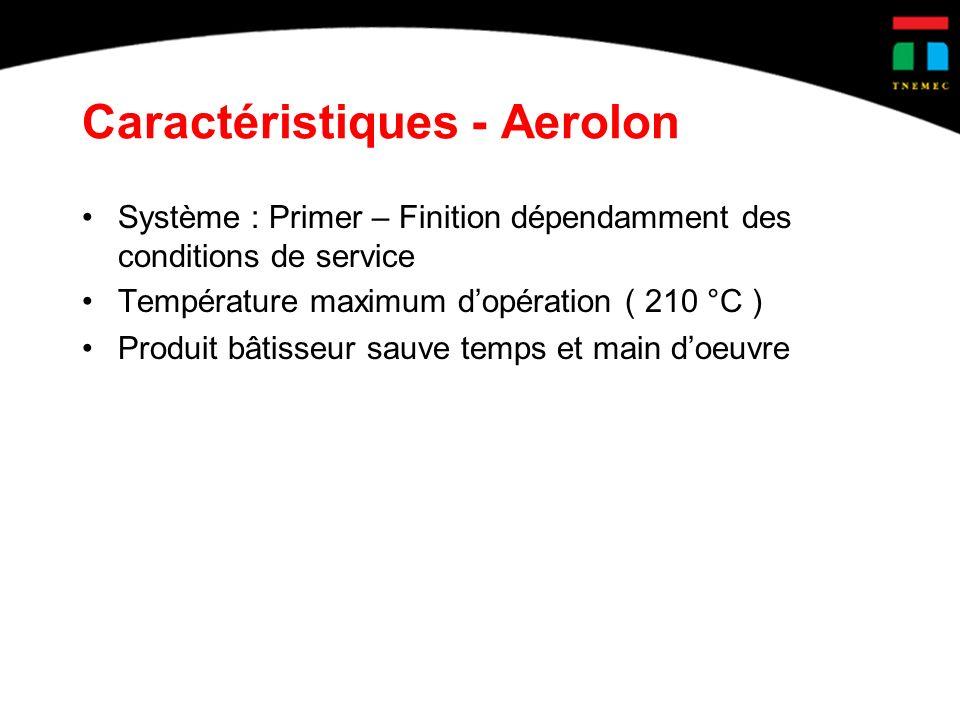 Caractéristiques - Aerolon