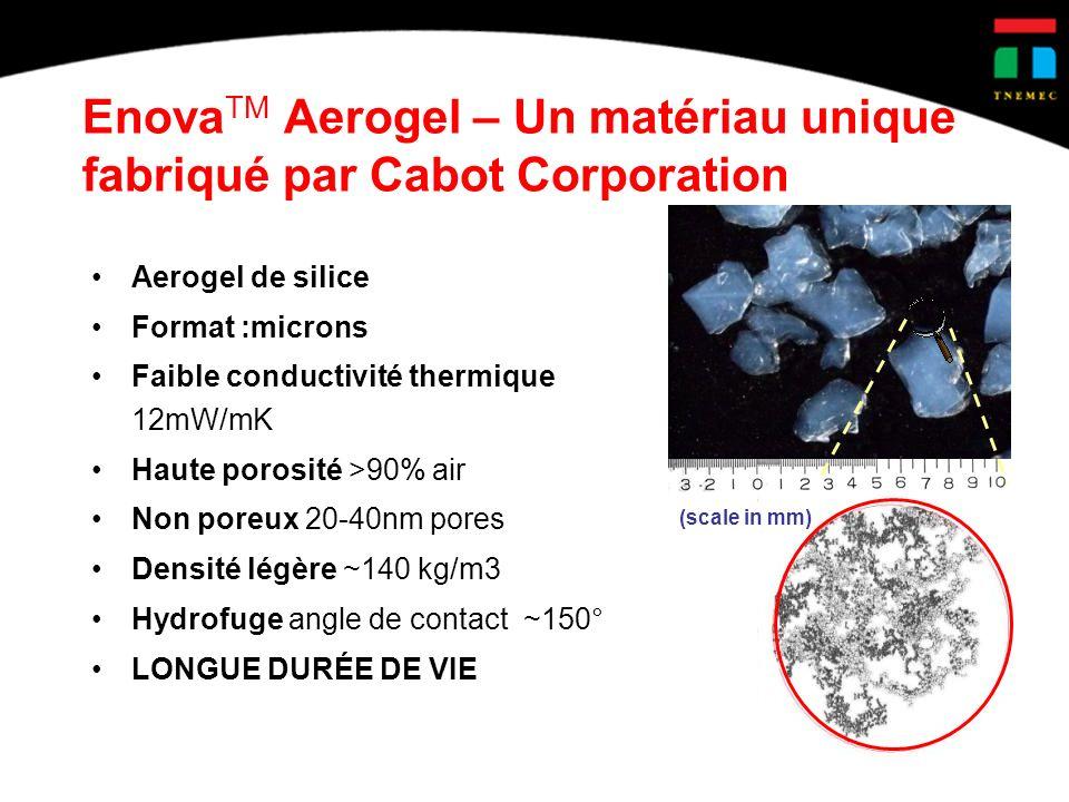 EnovaTM Aerogel – Un matériau unique fabriqué par Cabot Corporation