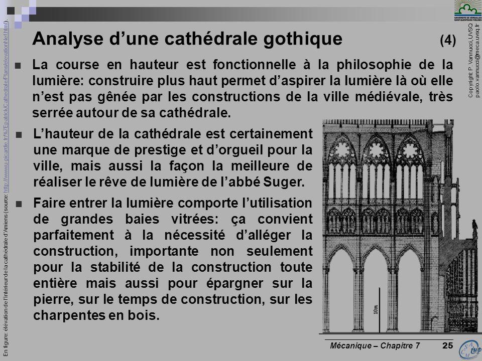 Analyse d'une cathédrale gothique (4)