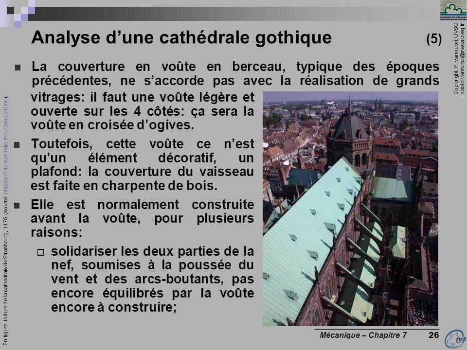 Analyse d'une cathédrale gothique (5)