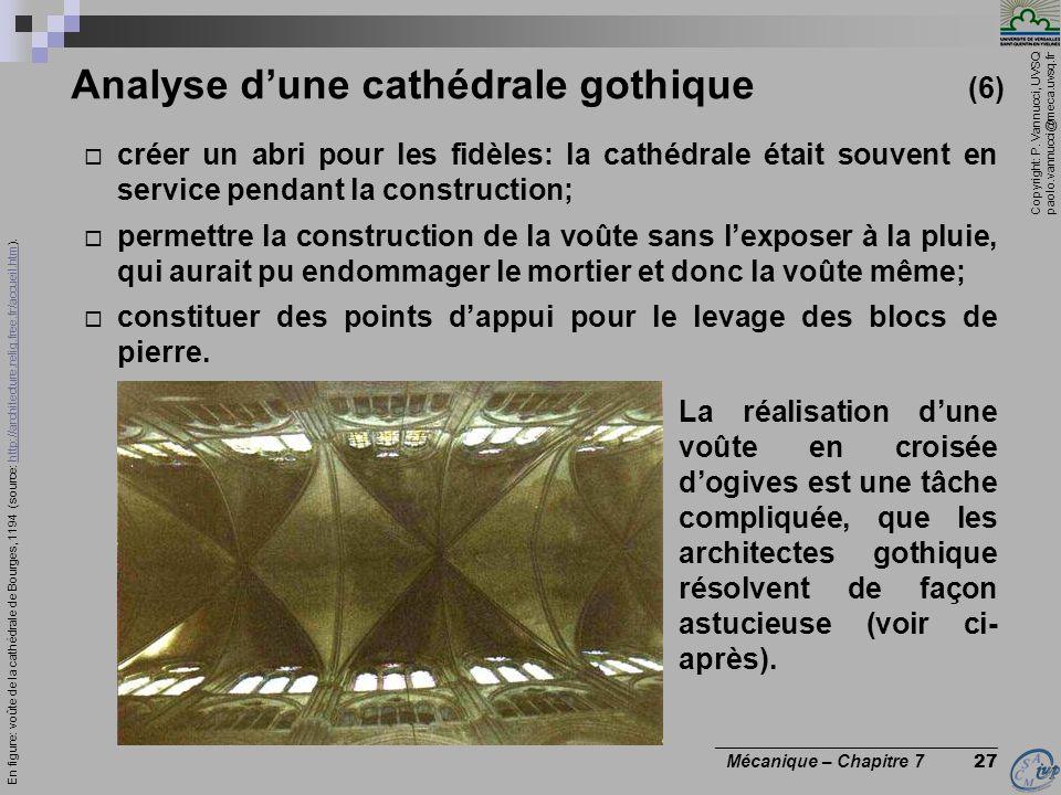 Analyse d'une cathédrale gothique (6)