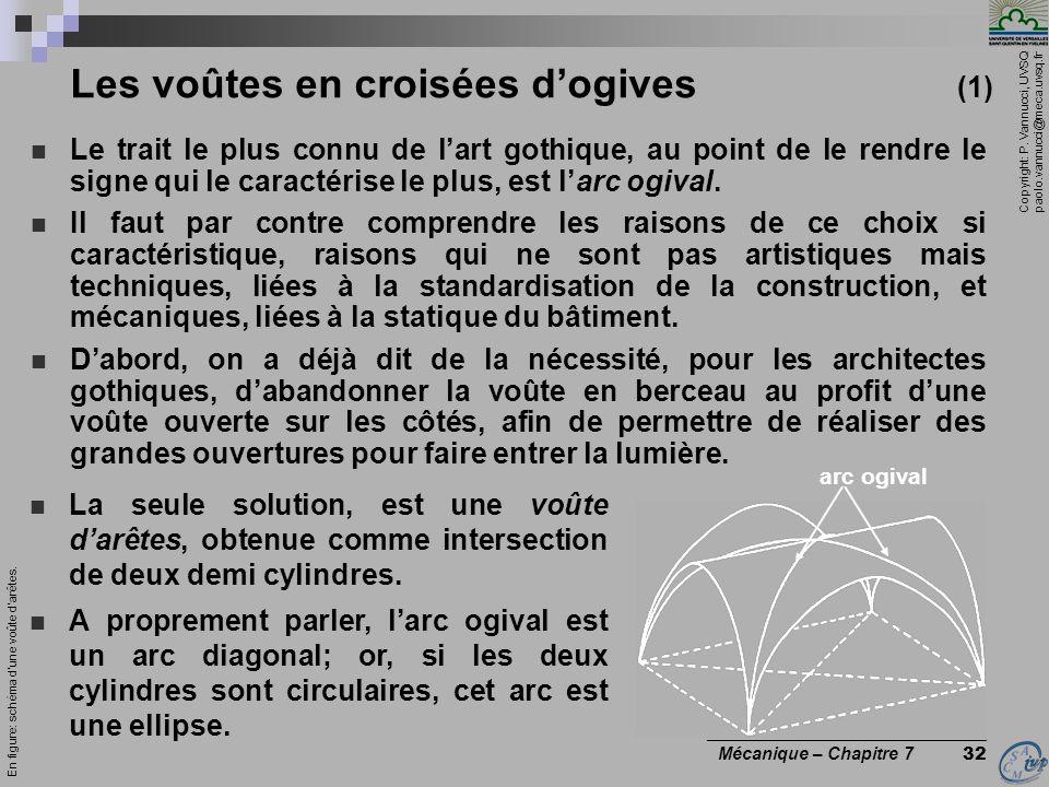 Les voûtes en croisées d'ogives (1)