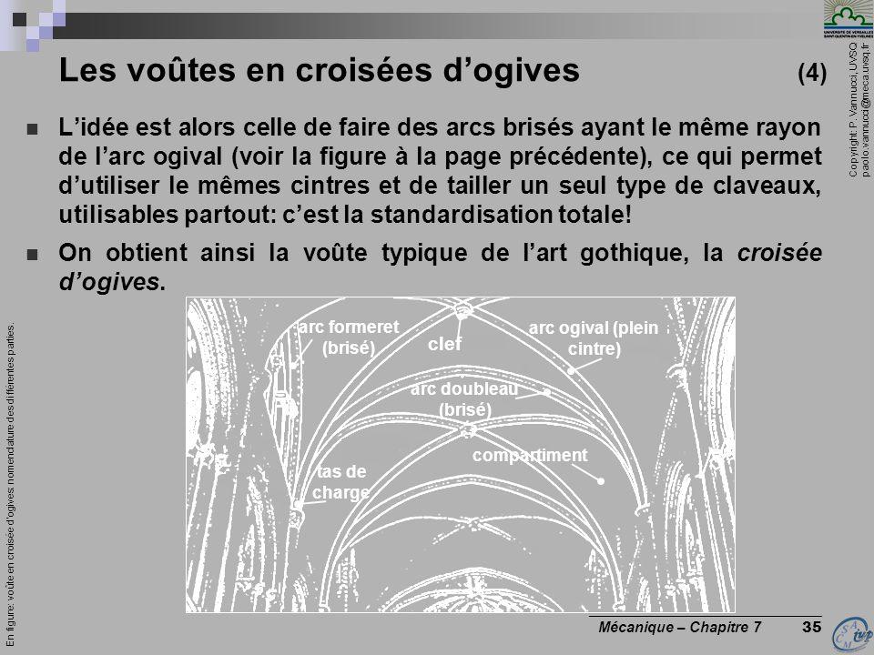 Les voûtes en croisées d'ogives (4)