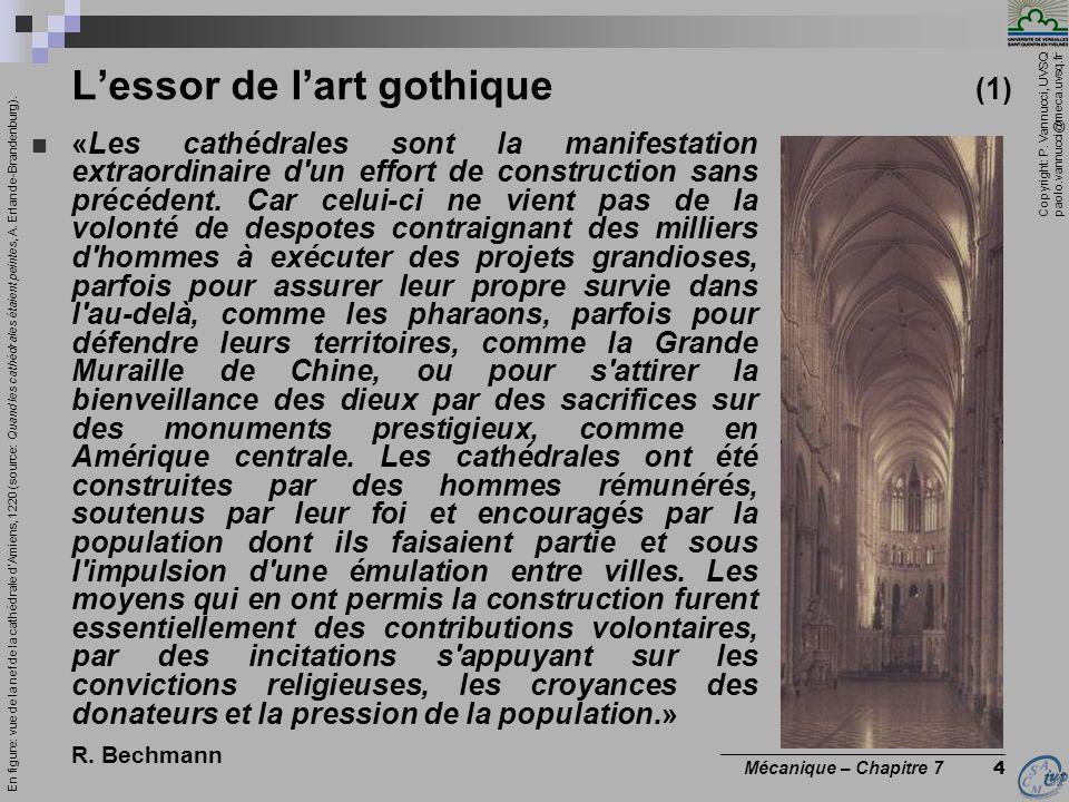 L'essor de l'art gothique (1)