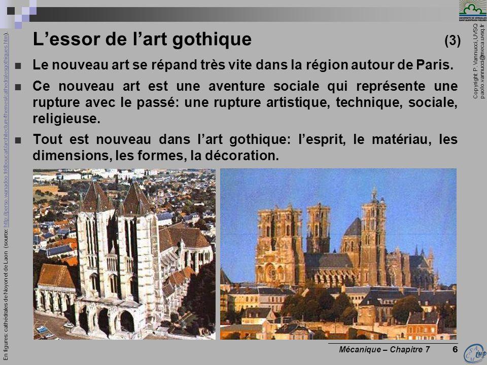 L'essor de l'art gothique (3)