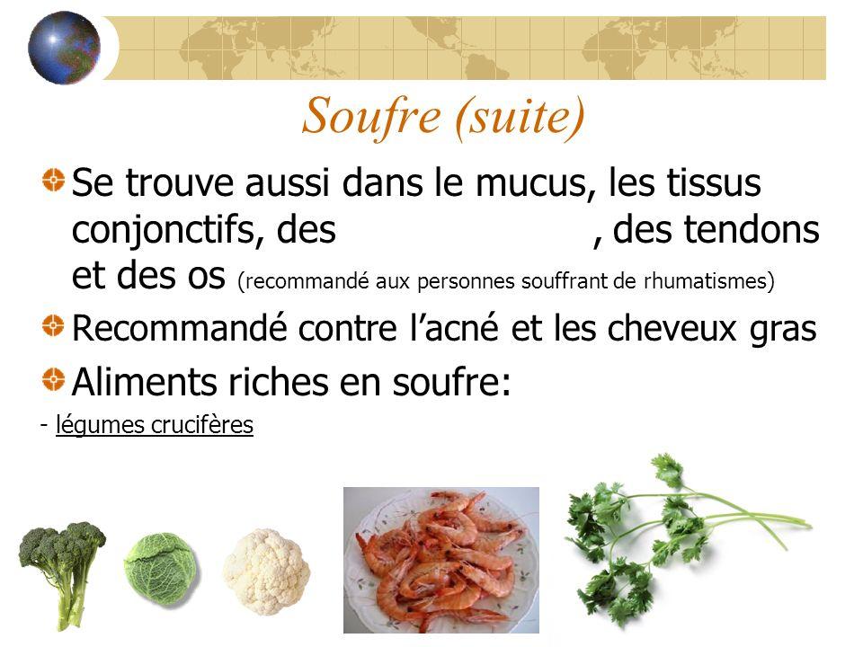 Soufre (suite)
