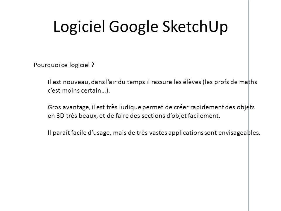 Logiciel Google SketchUp