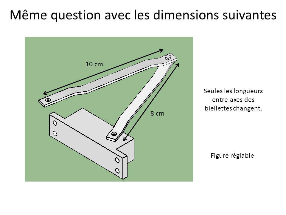 Même question avec les dimensions suivantes