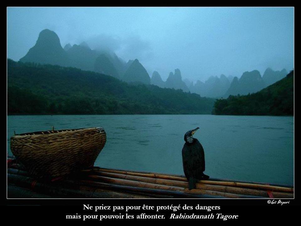 Ne priez pas pour être protégé des dangers