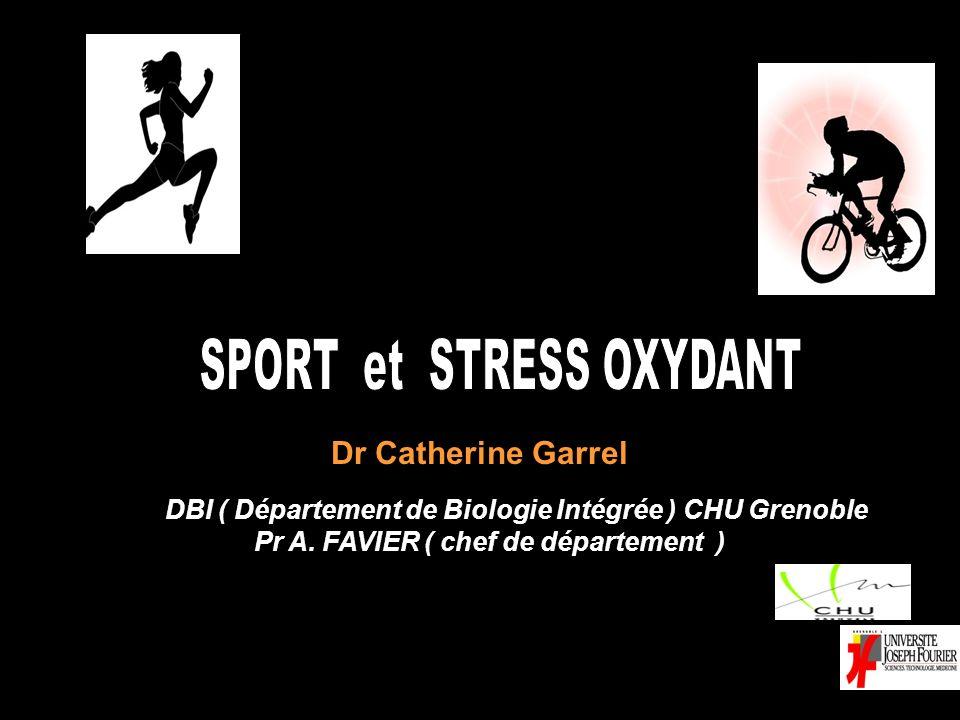 SPORT et STRESS OXYDANT