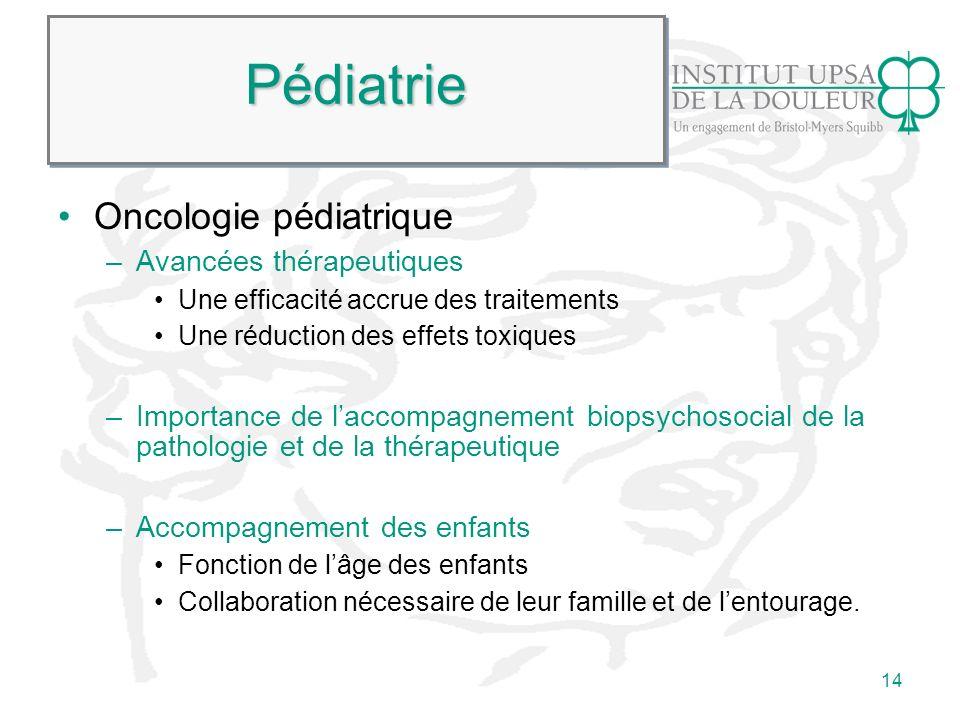 Pédiatrie Oncologie pédiatrique Avancées thérapeutiques