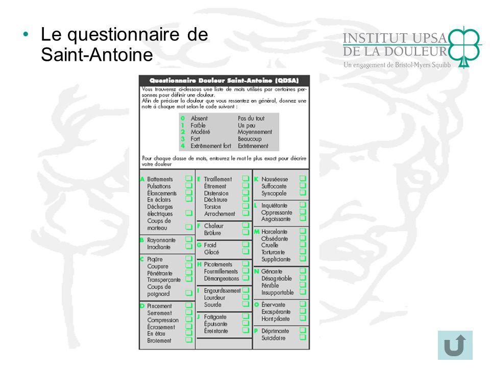 Le questionnaire de Saint-Antoine