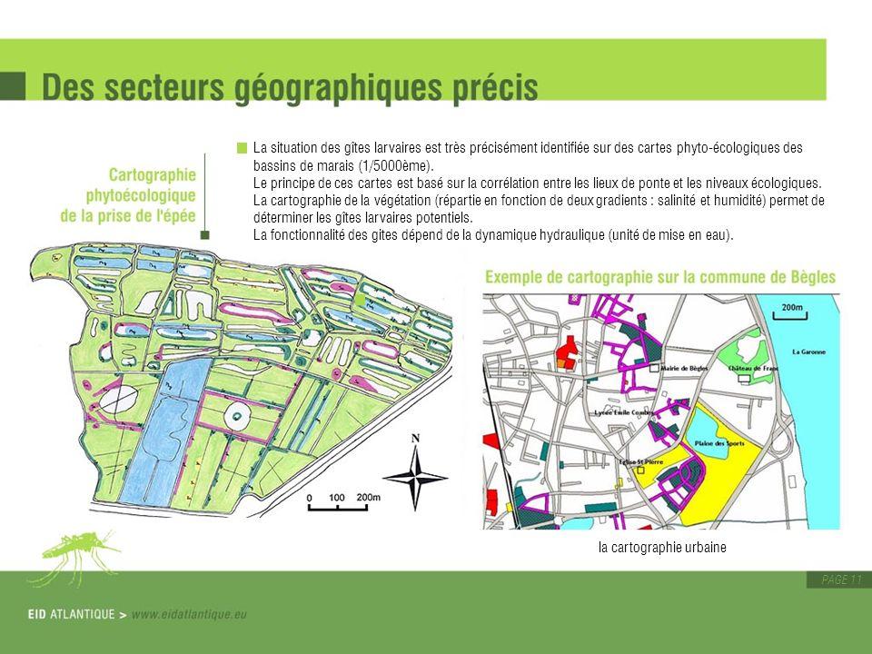 la cartographie urbaine