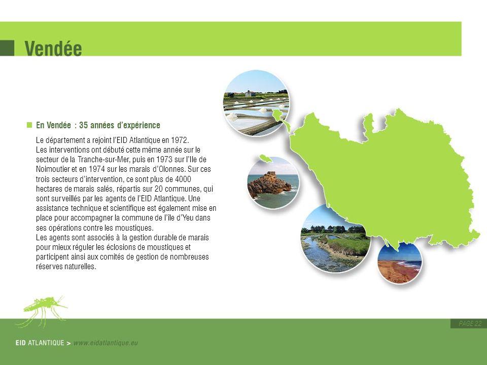 En Vendée : 35 années d'expérience