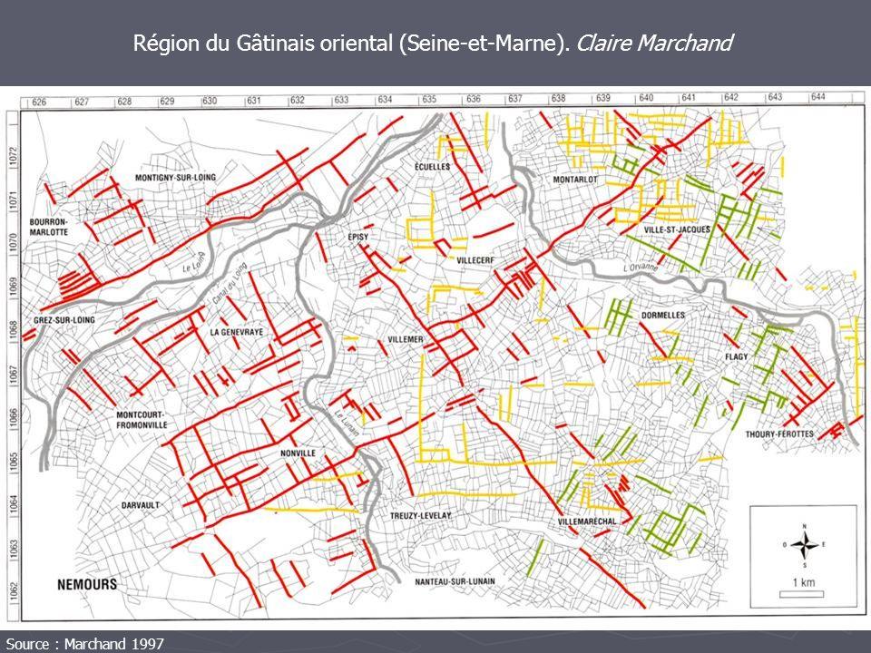 Région du Gâtinais oriental (Seine-et-Marne). Claire Marchand