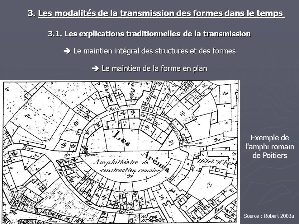 3.1. Les explications traditionnelles de la transmission