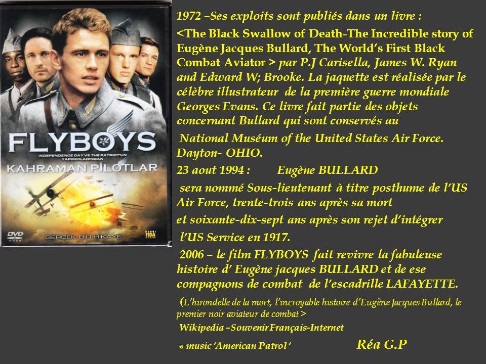 1972 –Ses exploits sont publiés dans un livre :