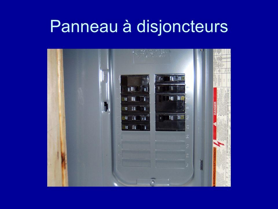 Panneau à disjoncteurs