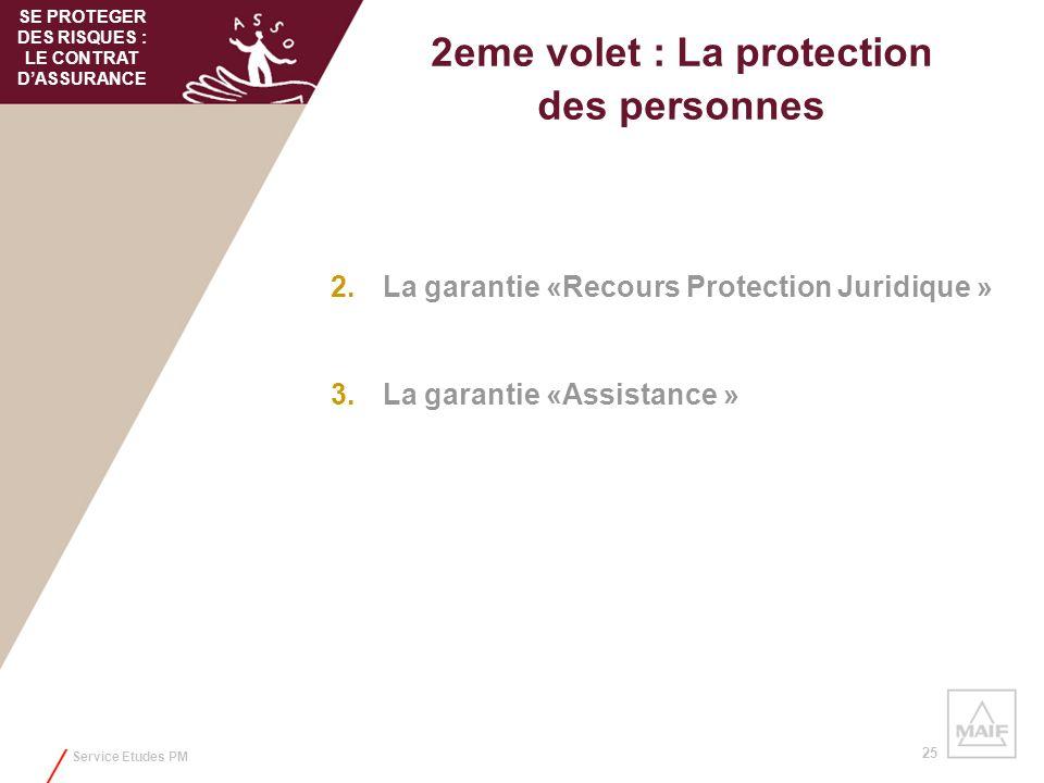 2eme volet : La protection des personnes