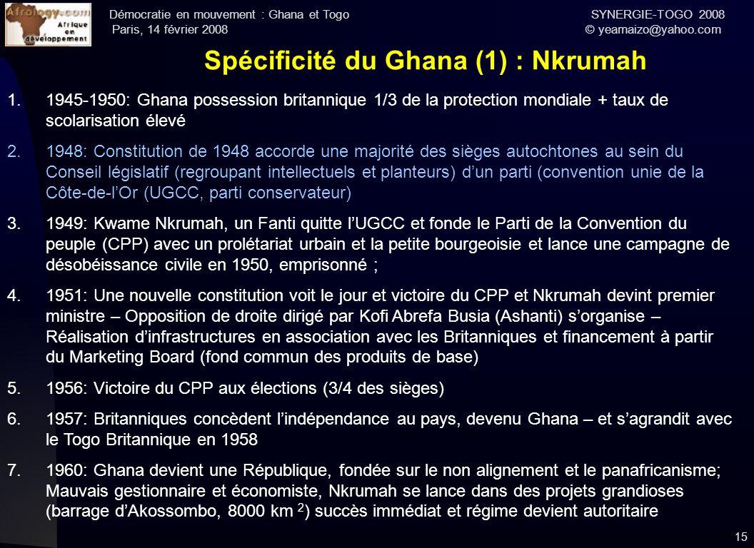 Spécificité du Ghana (1) : Nkrumah