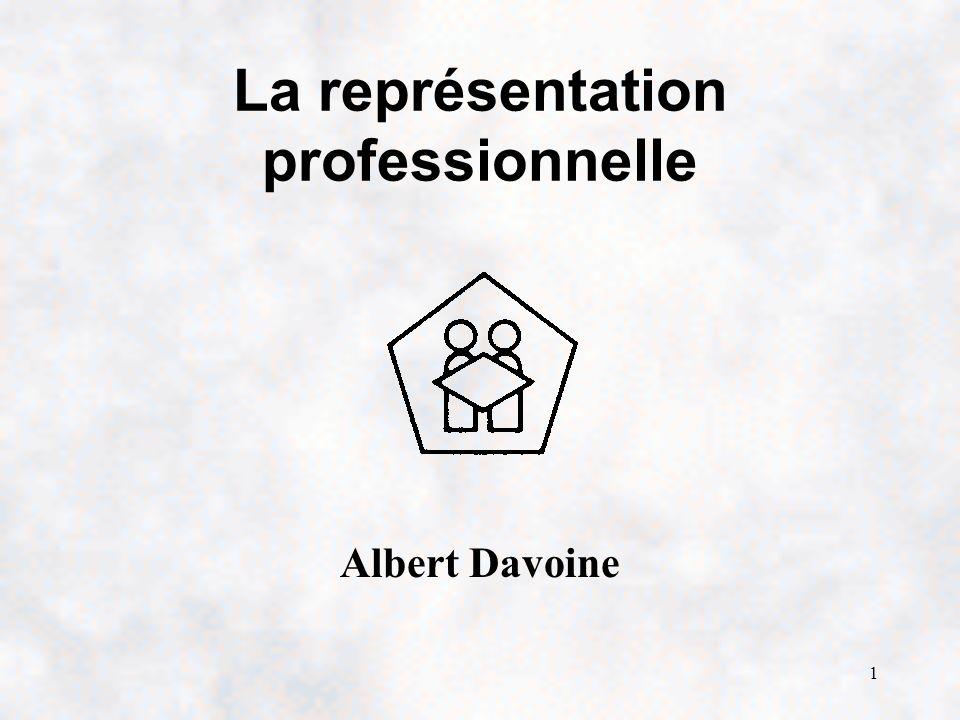 La représentation professionnelle